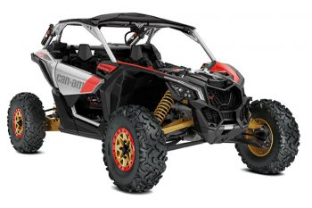 2019 can am x3 x rs turbo r gold-silver-red