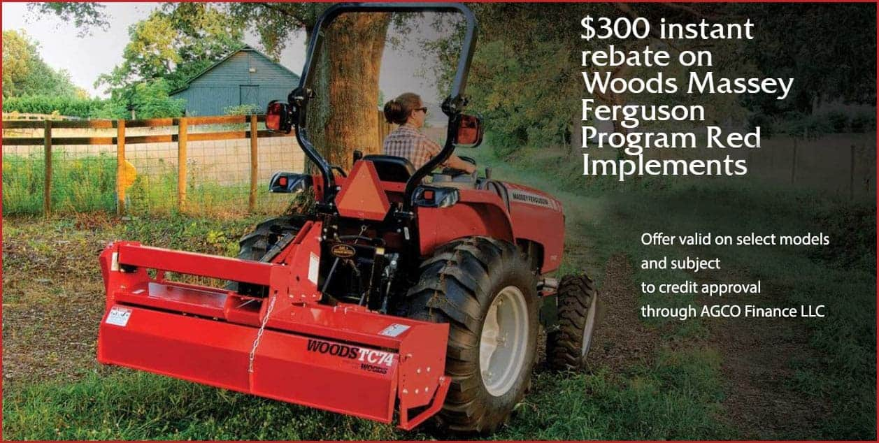 woods attachment offer