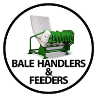 Hustler Bale Feeder and Handler link
