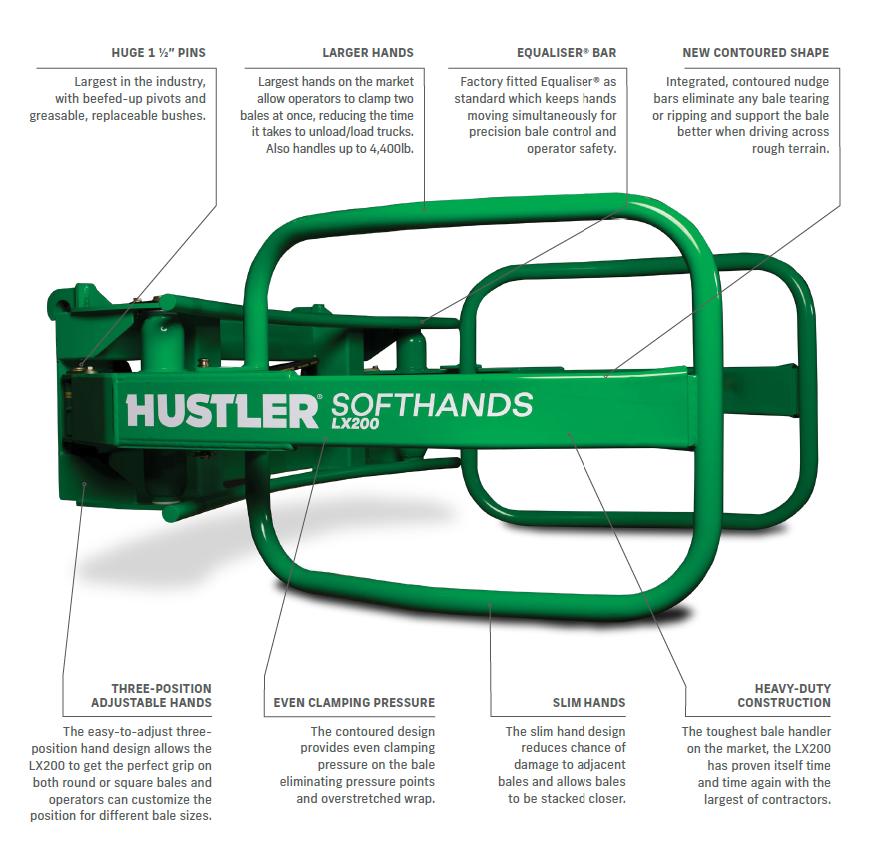 hustler-lx200-bale-handler-features