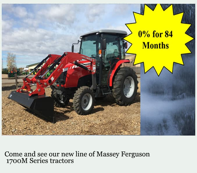 Massey 1700 M series in stock
