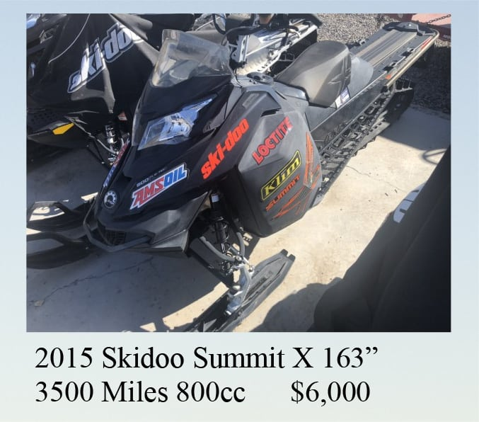 2015 ski-doo for sale
