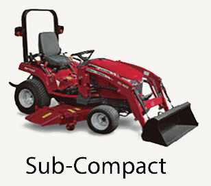 sub-compact tractor link