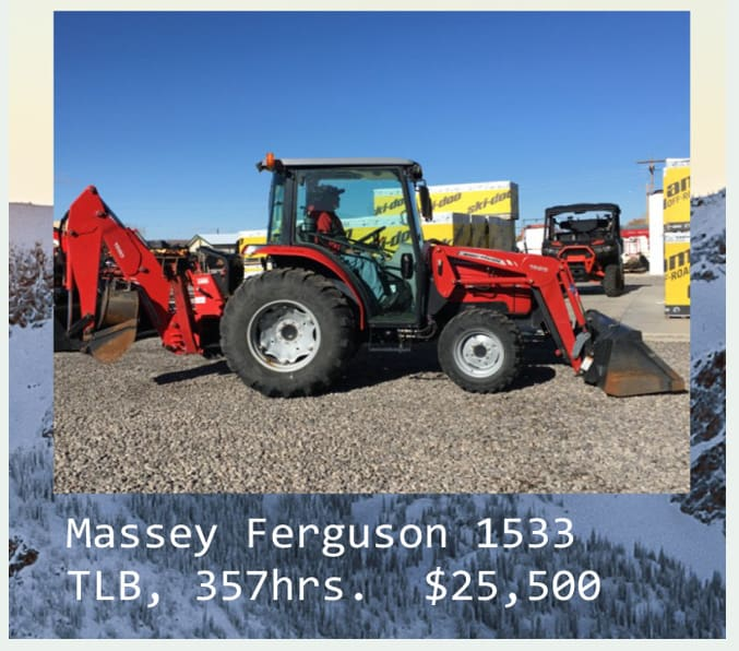 used massed 1533TLB