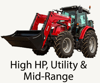 Utility tractor link