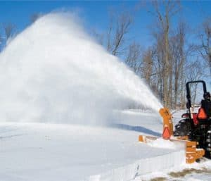 Woods snow blowers